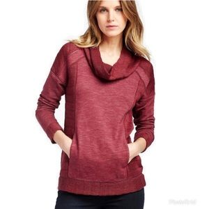 LUCKY BRAND Drapey Swit Mix Pullover Sweater- M